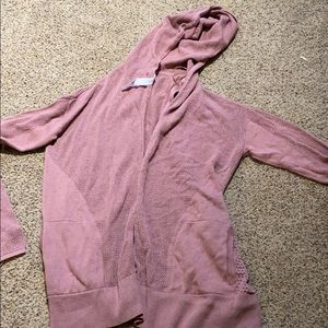 Lulu pink cardigan